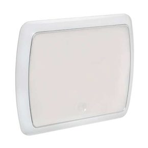 Surface Mt Low Profile Oblong 12v LED Ceiling Light - Touch Switch