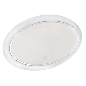 Surface Mt Low Profile 9-33v LED Ceiling Light - Touch On/Off/Dim Switch