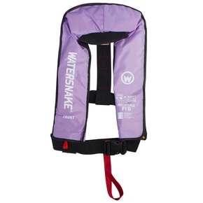 Inflatable Level 150N Life jacket - Lilac