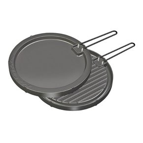 Kettle Barbecue Hot Plate/Griddle - Round