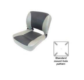 Deluxe Navigator Folding Seat - Black/Grey