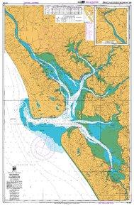 NZ 4265 Hydrographic Marine Chart- Kaipara Harbour