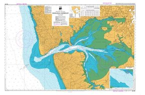 NZ 4314 Hydrographic Nautical Chart- Manukau Harbour