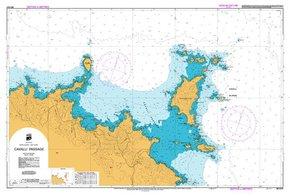 NZ 5121 Hydrographic Marine Chart- Cavali Passage