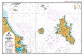 NZ 522 Hydrographic Marine Chart- Bream Tail to Kawau Island