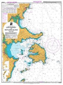 NZ 5227 Hydrographic Marine Chart- Cape Rodney to Motuora Isl.