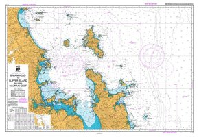 NZ 53 Hydrographic Marine Chart- Bream Head to Slipper Island