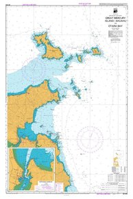NZ 5318 Hydrographic Marine Chart- Great Mercury Isl. to Otara