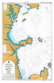 NZ 5321 Hydrographic Nautical Chart- Kawau Island to Rangitoto I
