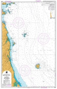 NZ 534 Hydrographic Nautical Chart- Mercury Bay to Katikati Ent.