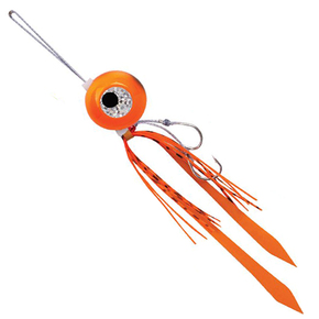 Freestyle Kabura Japanese Inchiku Fishing Jig Lure - Orange / 150g