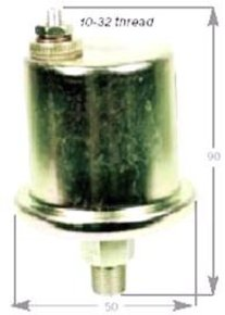 Amega Dual Station Oil Pressure Sender-80 psi