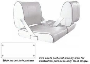Deluxe Double Sided Flip Back Seat - (Large Version)
