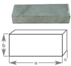 Plain Block Anode 155x80mm
