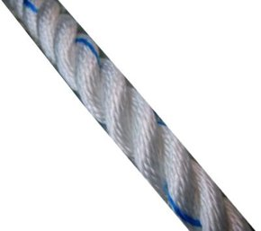 24mm Polyester 3 Strand Laid Rope (Per Metre)