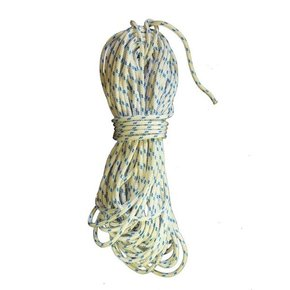 Precut 6mm x 20m Yacht Braid - Blue Fleck