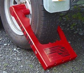 Original Trailer Wheel Clamp Lock 8 Std Size Smart Marine
