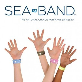 Seaband - Anti Sea-Sickness Wristband (Grey)