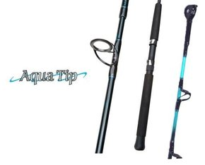 aquatip standup boat fishing rod with rollertip 15-24kg 5'6""