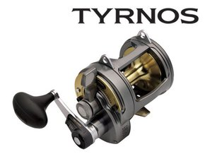 Tyrnos 30 2 Speed Overhead Lever Drag Fishing Reel