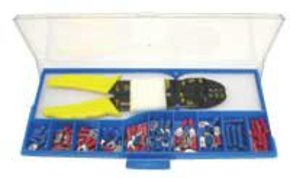48 Piece Crimping Tool Set with Terminals