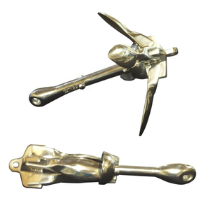 316 Grade Stainless Steel Folding Grapnel Anchor