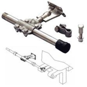 Transom Support Mounting Kit with Tube-Corrosion Resist Steel