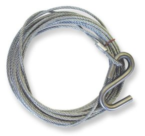 Trailer Winch Wire 5mm x 8mtr - 1500kg