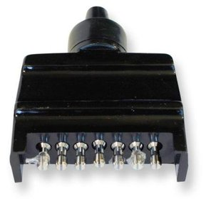 7 Pin Flat Trailer Connector - Male