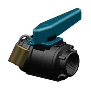 "Ball Valve 1"" BSP Composite Survey Standard"