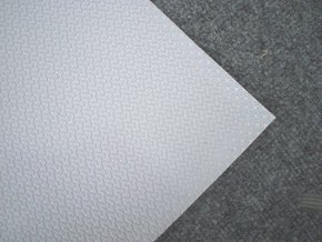 Non Slip Deck Tread 970x900mm - Self Adhesive - L.Grey