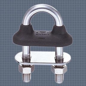 Watertight SS U-Bolt (6mm) -24mm eye