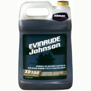 XD100 E-Tec 2 Stroke (Cycle) Outboard Motor Oil - 3.78 Litre (1-Gallon)