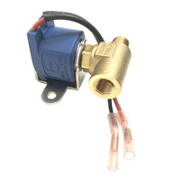 Solenoid LPG Shut Off Kit 12V Nickle Plated