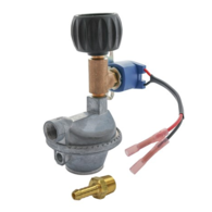 Gas Regulator with Solenoid Valve