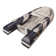 Frontier Deluxe Inflatable Alloy RIB 3.30m w/ Dbl Flat Floor/Locker