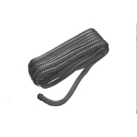Braided Nylon Dock/Mooring Line - Black - 10mm x 6m