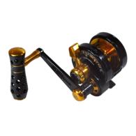 Powerspell PE5N Narrow Lever Drag Jigging Reel- BLACK/GOLD