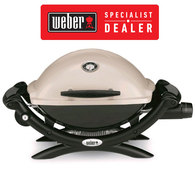 Baby Q Premium Q1200 BBQ - LPG Gas Portable Grill / Barbecue