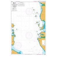 NZ 5327 Hydrographic Marine Chart- Waiheke Isl. to Coromandel