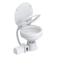 12v Compact Bowl Electric Toilet w/Reversible Pump