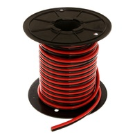 Tinned Twin Core Battery Cable 190 amp (x2) Red/Blk (Per/Mtr)