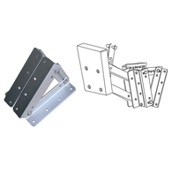 Alloy Rise & Fall Sailboat Spacer Base For Auxillary Outboards - to 15HP