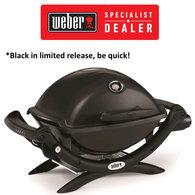 Baby Q Q1200 BBQ - Premium LPG Gas Portable Grill / Barbecue - Black