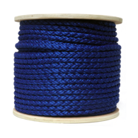 12mm 8 Strand Nylon Anchor Rope (Navy Colour) - 100m Reel