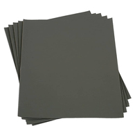 120 Grit Dry Lube Sand Paper - Grey - Per Sheet