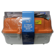 TACKLE BOX WITH MIXED TACKLE