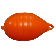 Inflatable 15x31cm Orange Low Drag Cray/Crab Pot Buoy