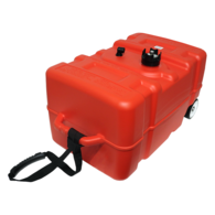 45 litre Portable Outboard Fuel Tank w/Wheels/Guage
