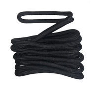 Braided Nylon Dock/Mooring Line - Black - 10mm x 4.5m
